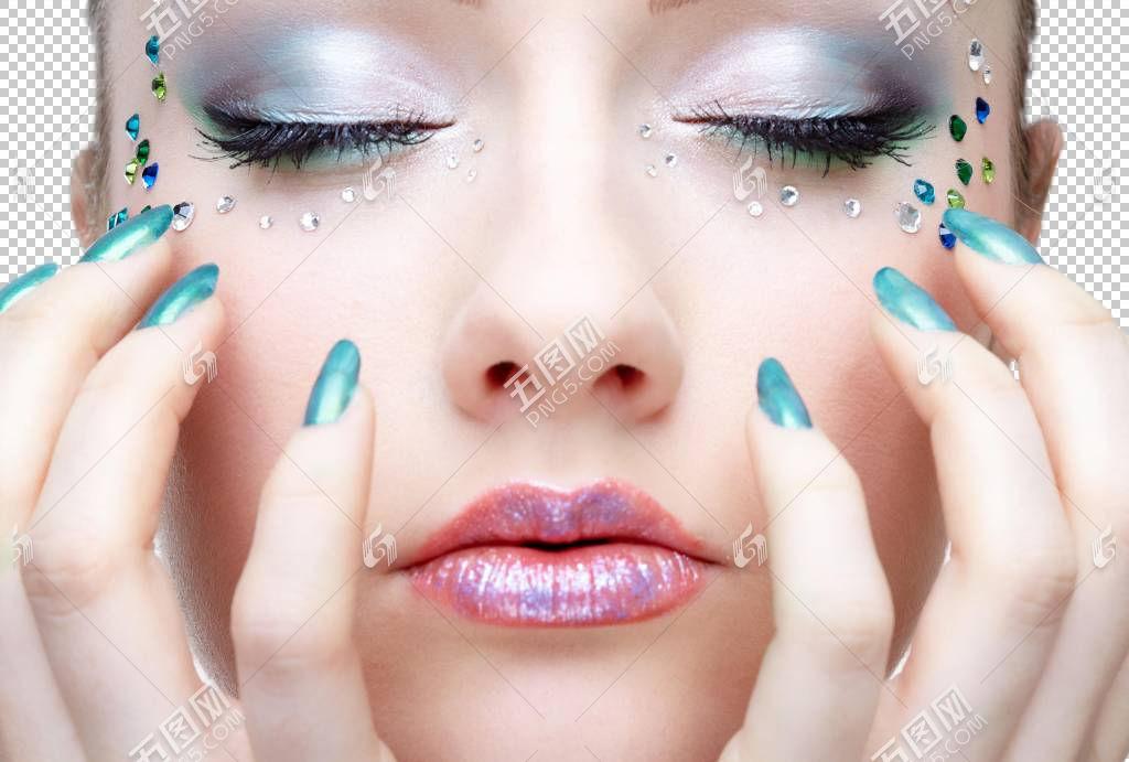 女性艺术眼妆