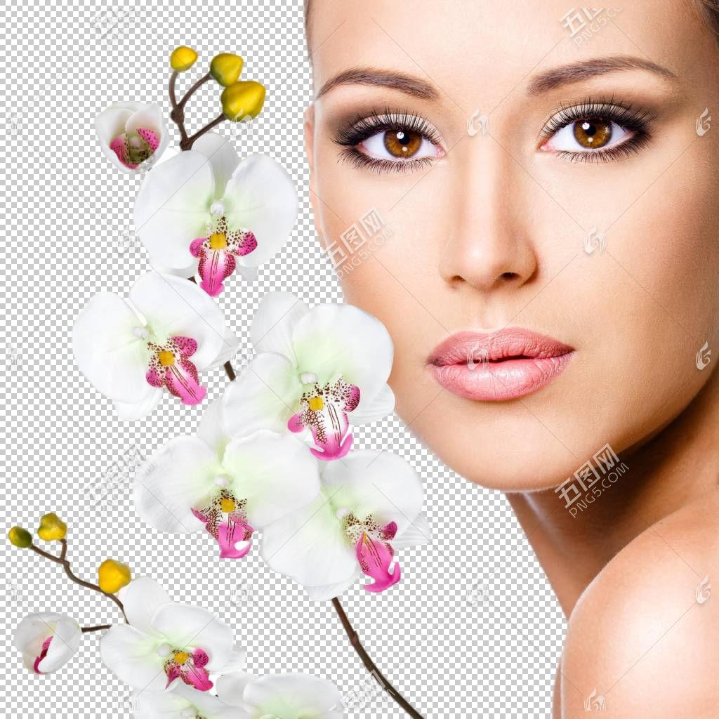 女性美容美体面部管理