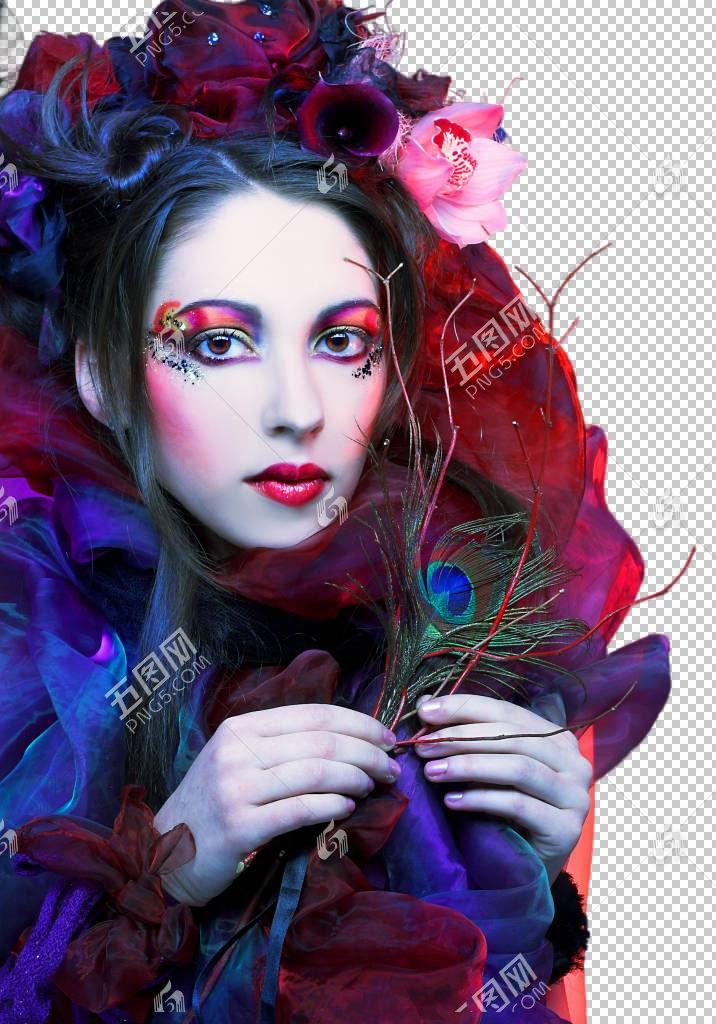 女性艺术妆容