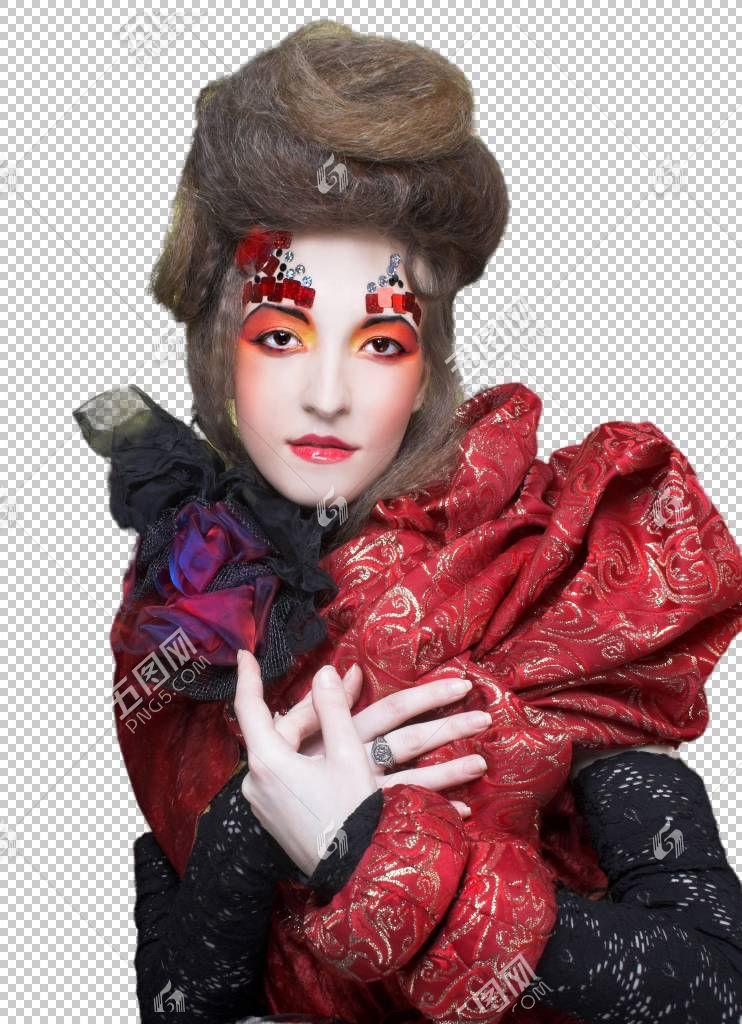 个性服装女性艺术照