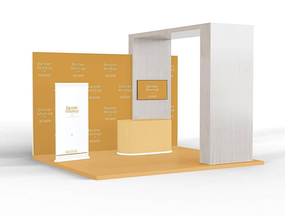 场景类展厅3D立体智能样机设计