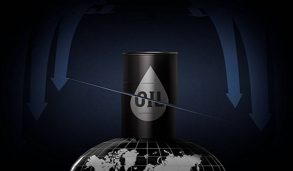油价价格波动与市场冲击背景设计