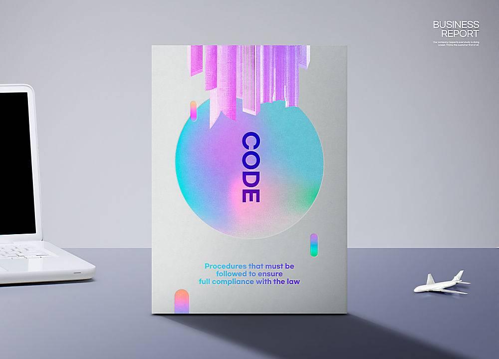 商务通用画册封面样机效果图设计