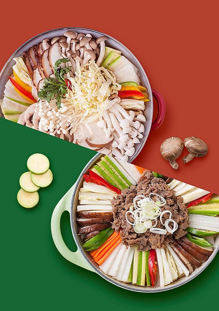 韩式素菜美食